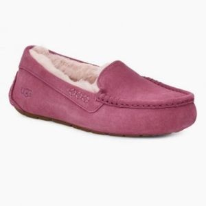 New UGG Ansley Slippers Loafers, Bougainvillea, 9